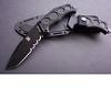 Fin Full-Tang Tactical Tanto Knife /Miltary Knife
