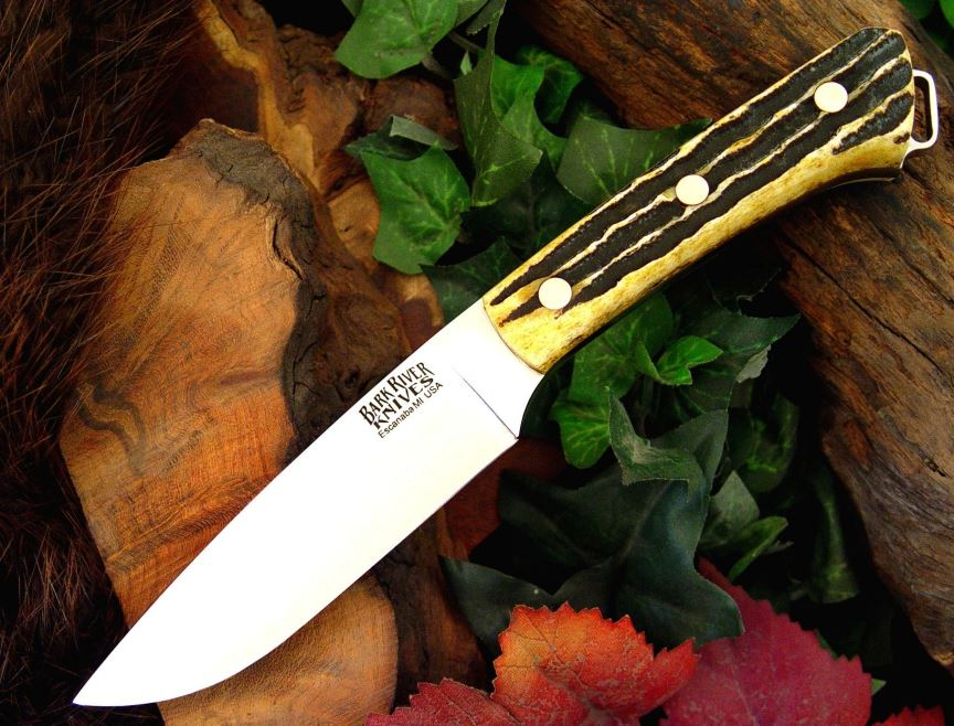 Bark River Knives 130WBASH Fox River Hunter Fixed Blade with