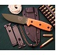 ESEE Model 4 Plain Edge orange handle