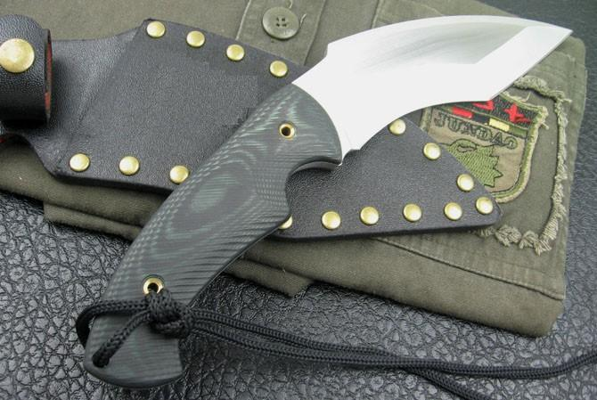 Handmade M2 Karambit ,Fixed hunting knife