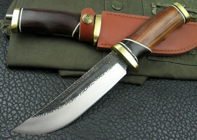 Persia Folded steel Hunting Knife