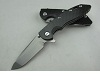 Carbon Handle Military Knife XM Folding knife