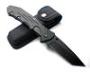 Dark Tanto Huge Military Folding Knife