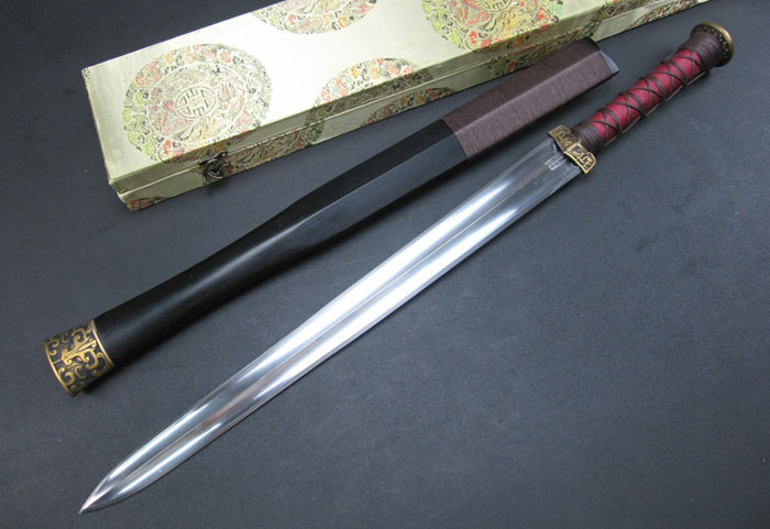 CUSTOM Chinese Han Dynasty Sword