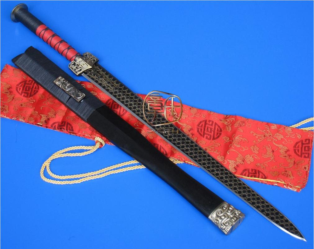 Chinese Han  The Lord of Virtue Sword / Handmade knife