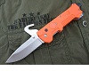 Jeep MultiTools Folding Knife-Orange LED Flashlight