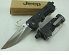 Jeep MultiTools Folding Knife LED Flashlight
