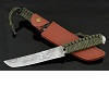 Chrysanthemum Custom Tanto Hunting Knife Handmade Knife