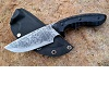 pinaster Ats-34 HRC 62 G10 Handle Hunting Knife