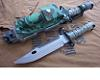 Como M9  BAYONET AND SCABBARD Military Survival Knife