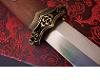DAMASCUS CUSTOM Chinese Full Tang Dynasty Sword