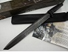Big Tanto-Long Custom Damascus Bowie Knife Handmade Knife